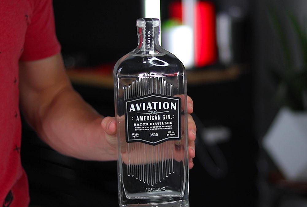 Custom Glass Bottle Manufacturing – Aviation Gin