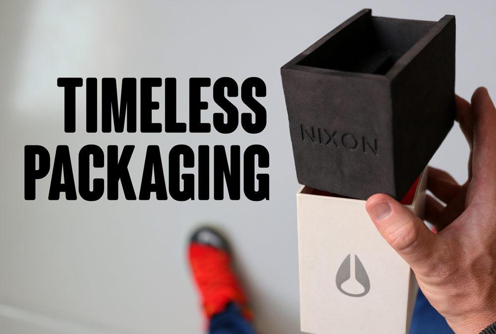 Nixon Watch Box Design Lasts 10+ Years